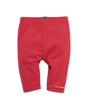 Legging court bébé fille fraise - Mode marine Destockage