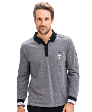 Polo gris homme - Mode marine Homme