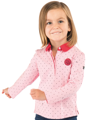Polo rose fille - Mode marine Enfant