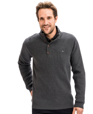 Pull col montant homme - Mode marine Homme