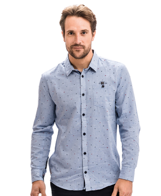 Chemise chambray homme - Mode marine Homme