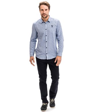 Chemise chambray homme_1