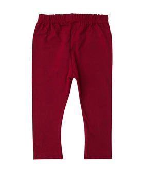 Legging long bébé fille rouge pimente_1