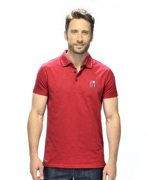 Polo homme rouge piment - Mode marine Homme