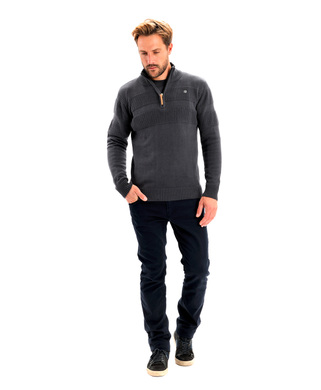 Pull homme anthracite - Mode marine Homme