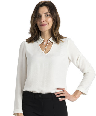 Blouse blanche femme - Mode marine Promotions