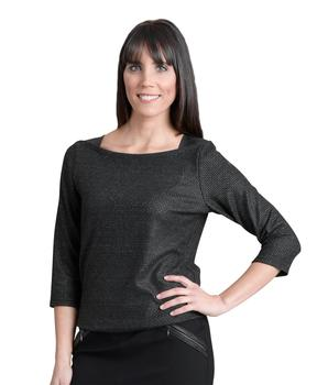 Top manches longues femme anthracite_1