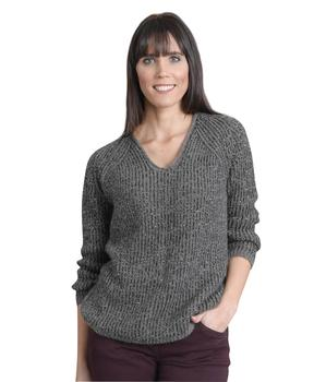 Pull femme gris_1