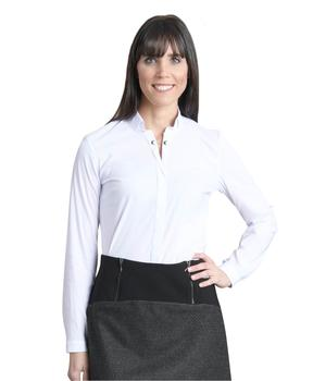 Blouse manches longues femme blanche - Mode marine Femme